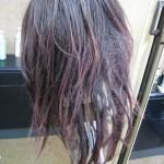 人毛10%:人工毛90%混毛製品のストレッチ